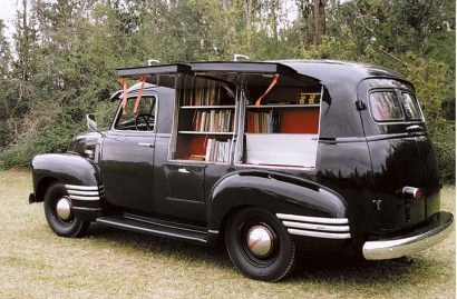 1949 Chevy book mobile