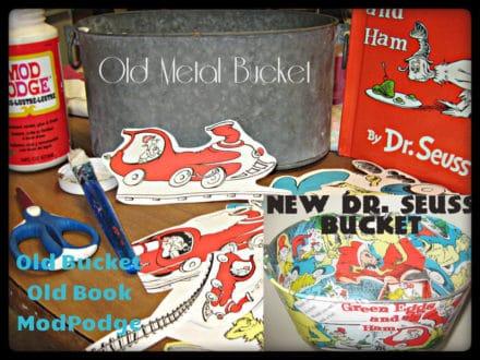 Upcycled Bucket