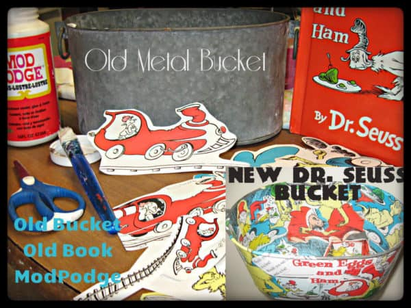 Upcycled Bucket Do-It-Yourself Ideas