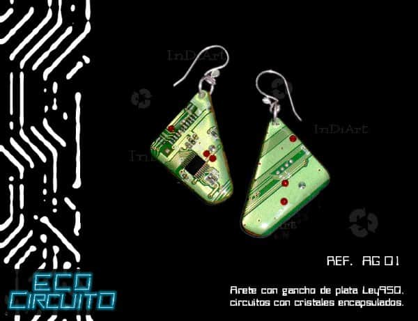 ECO CIRCUITO13 600x461 Electronic jewels in jewelry accessories  with Jewelry Electronics