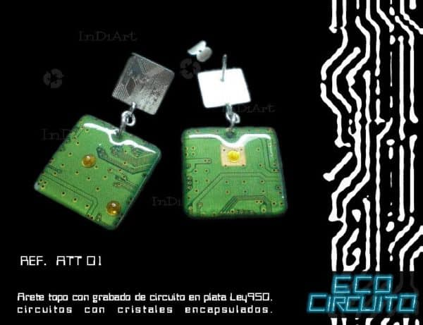 ECO CIRCUITO24 600x461 Electronic jewels in jewelry accessories  with Jewelry Electronics