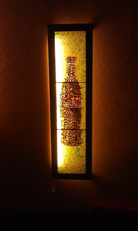 Sea Glass Art and Decoration in art glass  with sea glass Glass Africa