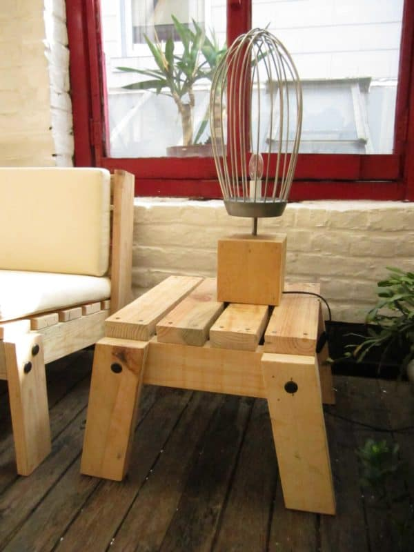 Cratewood and upcycling livingroom in wood diy architecture  with Light Furniture DIY Crates