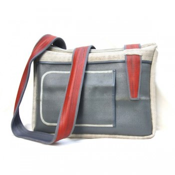 Bags from recycled firehose