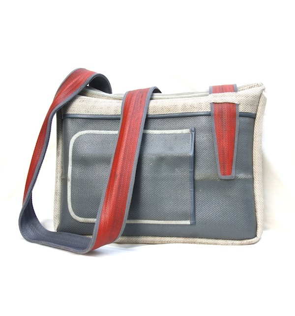 hosewear laptop bag Bags from recycled firehose in accessories  with firehose Bags