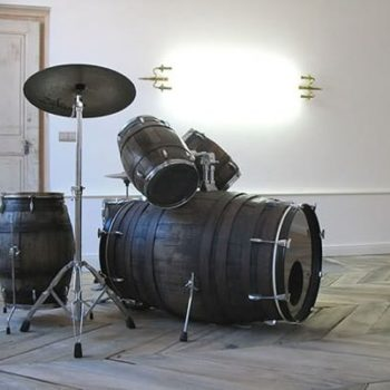 Wine barrels drum set