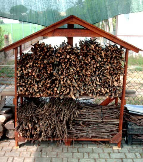 Pallet Shed For Firewood Recycled Pallets