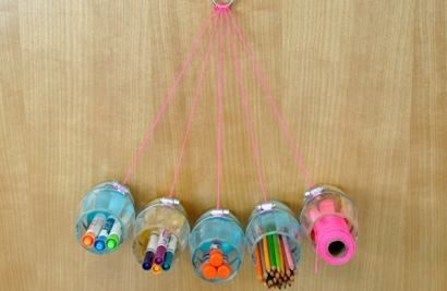 DIY Hanging Craft Organizer