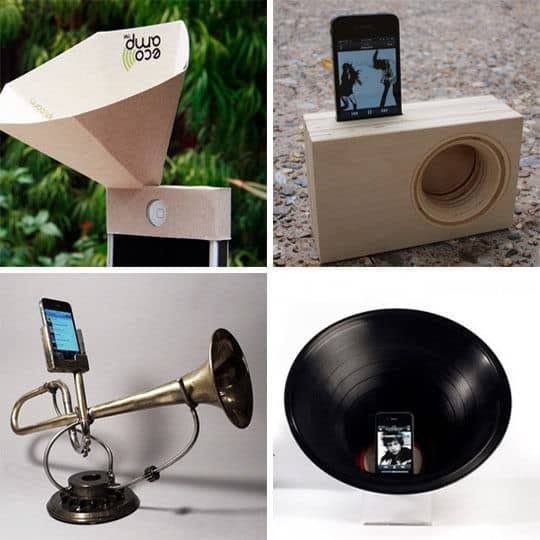 Passive speakers in accessories  with Speaker iPhone