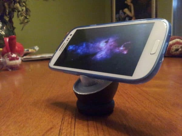 Samsung Galaxy S3 Stand in plastics packagings diy  with Plastic