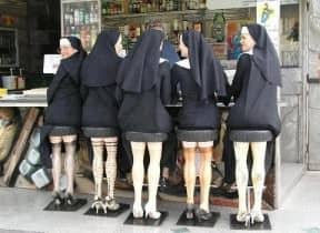 Mannequin legs stools