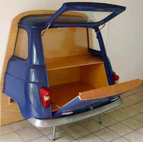 Renault Minibar ! Do-It-Yourself Ideas Mechanic & Friends Recycled Furniture Recycling Metal
