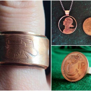 How To Recycle Old Coins Into Jewelry
