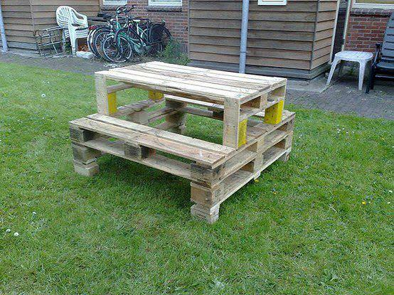 Camping Table from Pallets Recycled Pallets
