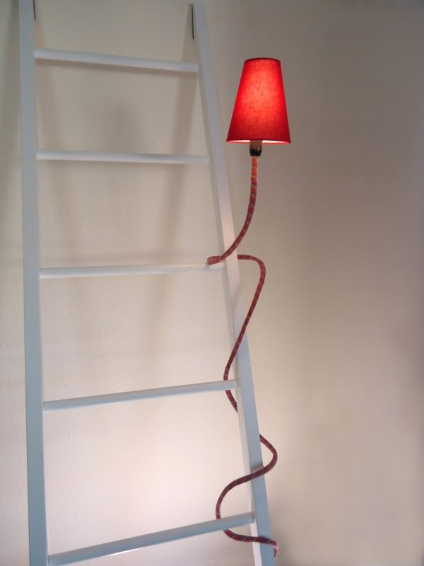 climbing lamp son of nils 2 600x800 Climbing lamps in lights  with rope Light Lamp 