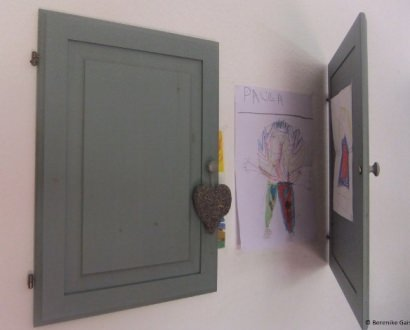 Door, door on the wall…