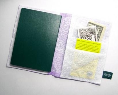 Plastic bag Passport case