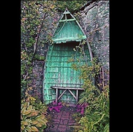 Romantic Boat Shelter
