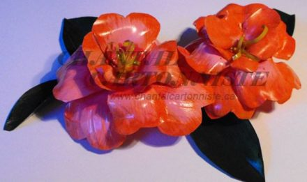 Beautiful Flower Made From Recycled Plastic Bottle