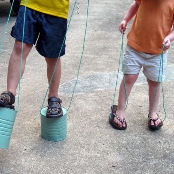 Can Stilts: For Your Childhood Memories
