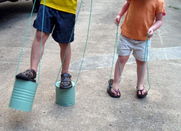 Can Stilts: For Your Childhood Memories Do-It-Yourself Ideas Recycling Metal