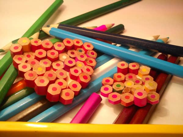 Recycled Pencils Into Colored Earrings Upcycled Jewelry Ideas