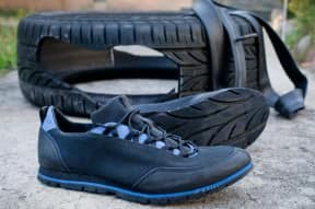 Shoe from tyre !