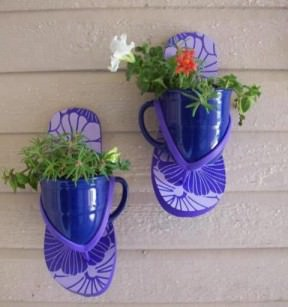 Thongs planters