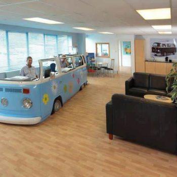 Volkswagen Van –> Office