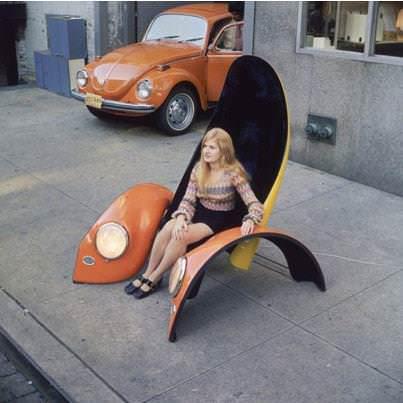 Beetle seat