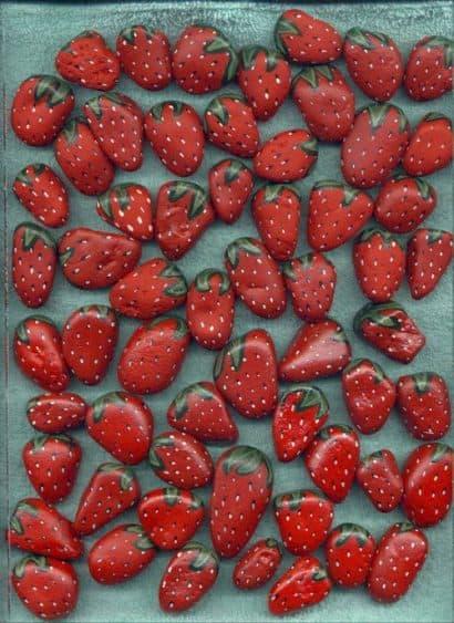 DIY : Strawberry stones forever