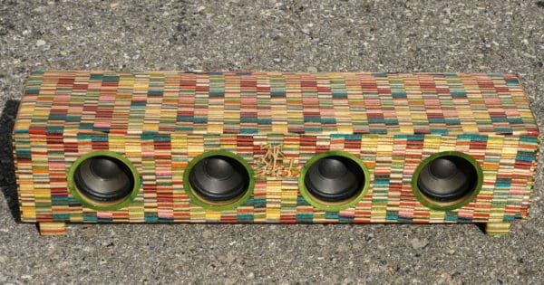 Recycled Skateboard Art Recycled Sports Equipment Wood & Organic