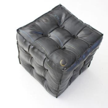 Tire Tube Pouffe