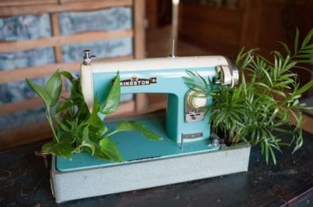 Sew you want an indoor garden ?