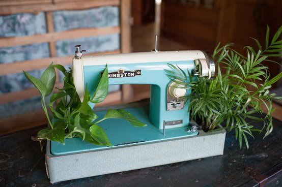 Sew you want an indoor garden ? in garden 2 diy  with sewing machine indoor Garden ideas