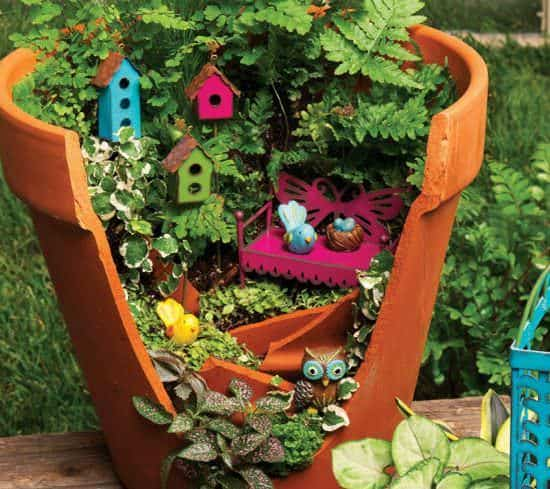 Gypsy Garden in diy  with Garden ideas clay pot