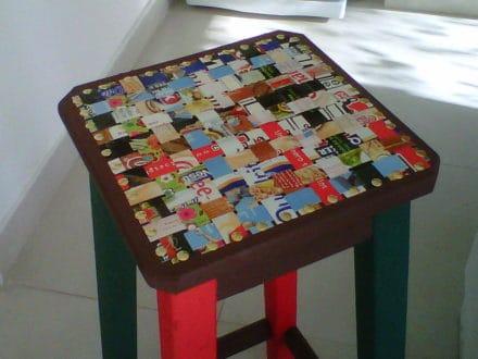 Idea with cardboard