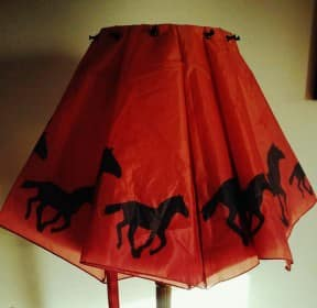 Horseplay Lamp Shade