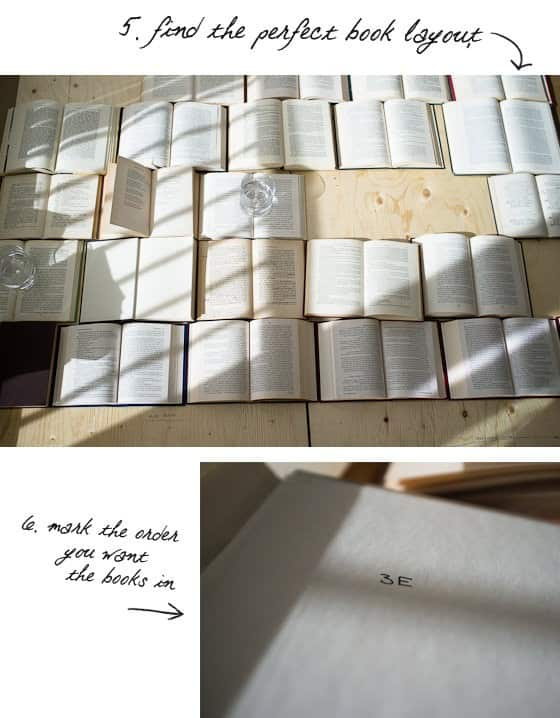 DIY : book headboard in paper diy  with home headboard Book Bed