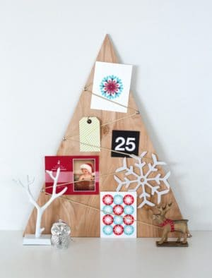 DIY: Plywood treecard holder