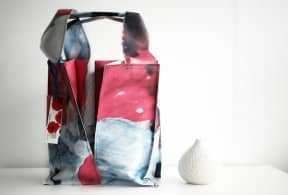 Recycled Poppy Bag