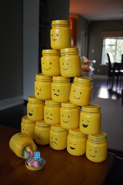 "DIY : Lego party ""goody"" bags !"