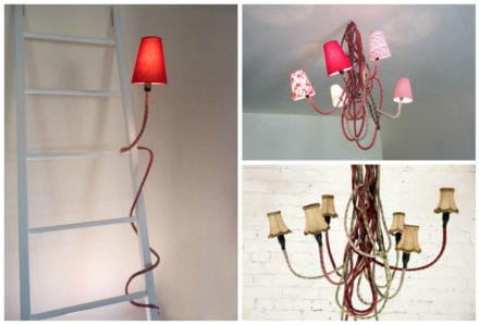 Climbing Ropes Into Lamps