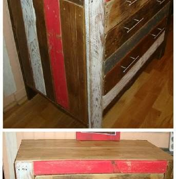 DIY: Recycled Pallet Cabinet