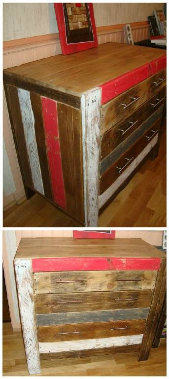 DIY: Recycled Pallet Cabinet Recycled Furniture Recycled Pallets