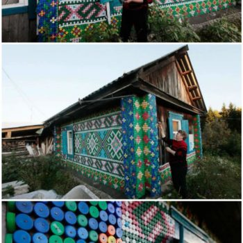 House Made Of 30,000 Recycled Plastic Bottle Caps