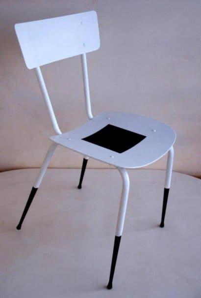 "Recycled chair ""Malevich"""