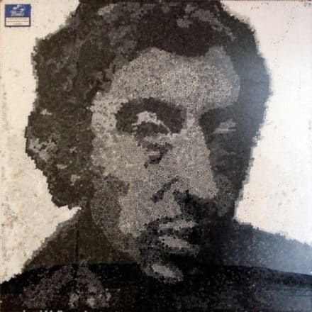 Serge gainsbourg portrait made of 23000 cigarette filters
