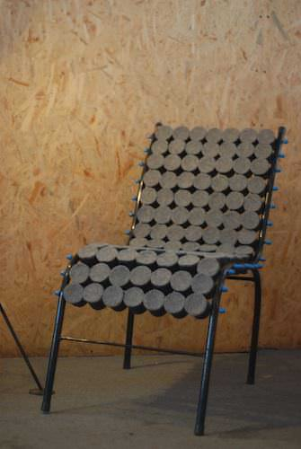 Tubo Chair Recycled Furniture