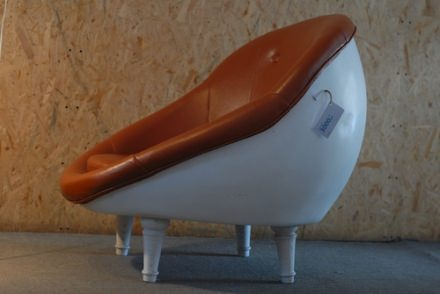 Telephone shell chair